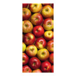 Apples Background Custom Rack Card