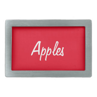 Apples Belt Buckle