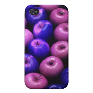 Apples Blue & Pink Cases For iPhone 4