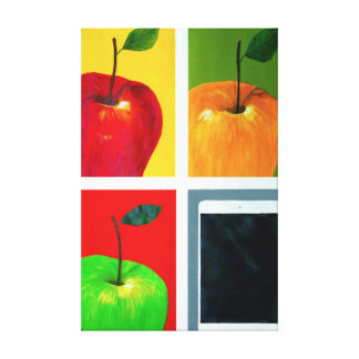 Apples Stretched Canvas Print