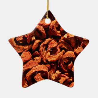Apples - d44 ceramic star decoration