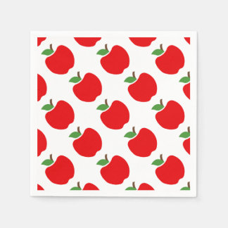 Apples Disposable Napkins