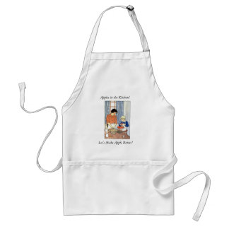 Apples in the Kitchen Adult Apron