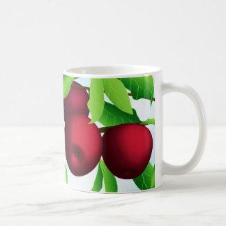 """Apples on a Branch"" Coffee Mug"