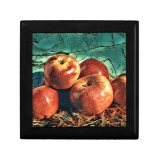Apples on Display Gift Box