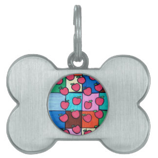 Apples Pet Tag