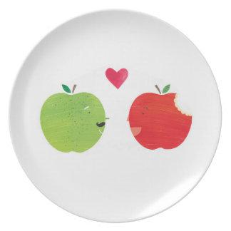 Apples! Plate