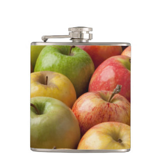 Apples - Ripe & Colorful Hip Flask