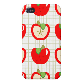 Apples & Slices Hard Shell iPhone 4 Case