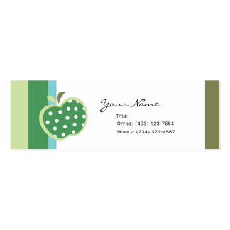 Apples to Apples Pack Of Skinny Business Cards