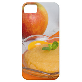 Applesauce with cinnamon and orange spoon iPhone 5 cases