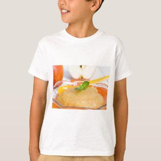 Applesauce with cinnamon and orange spoon tee shirts