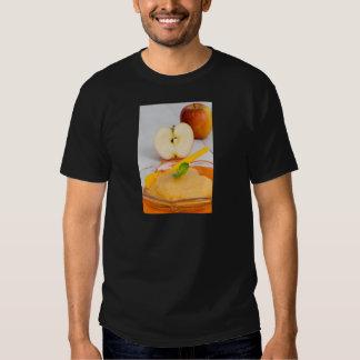 Applesauce with cinnamon and orange spoon tshirt