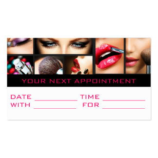 Appointment Card Salon Beauty Cosmetology Business Cards