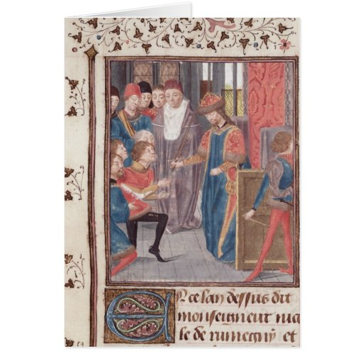 Appointment of Two Knights Greeting Card