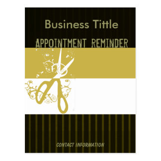 Appointment Reminder Postcard