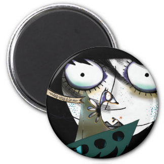 Appointment with the sea… 6 cm round magnet