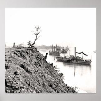 Appomattox River 1865 Poster