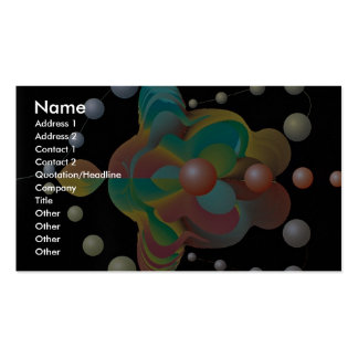 Apposition dimension business card template