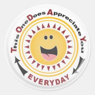 Appreciation Sticker