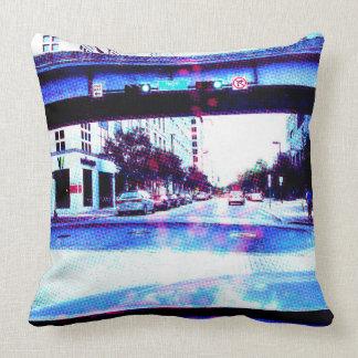 Approaching Hogan Street Pillow