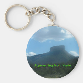 Approaching Mesa Verde Keychain