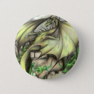 Approaching Storm 6 Cm Round Badge