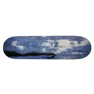 Approaching storm custom skateboard