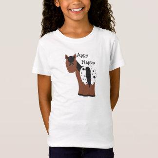 Appy Happy Blanket Appaloosa Horse T-Shirt
