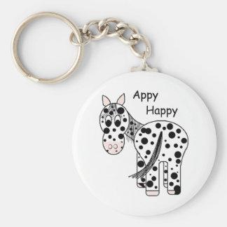 Appy Happy - Leopard Appaloosa Key Ring