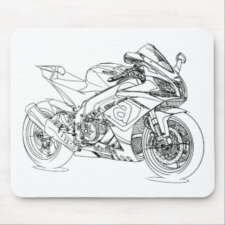 Apr RSV4 2015 Mouse Pad
