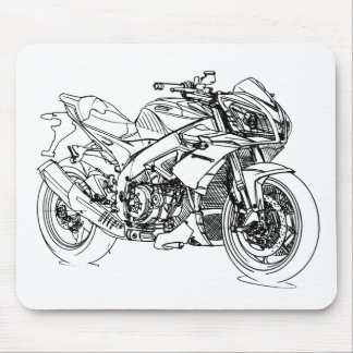 Apr Tuono V4R 2012 Mouse Pad