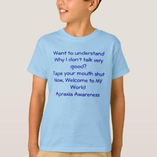 Apraxia Awareness T-Shirt