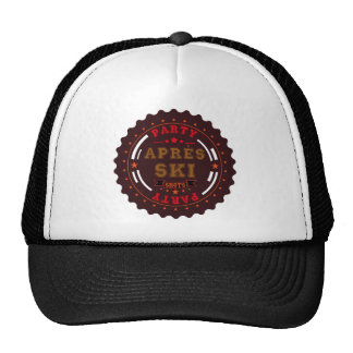 Apres Ski Party Logo Cap