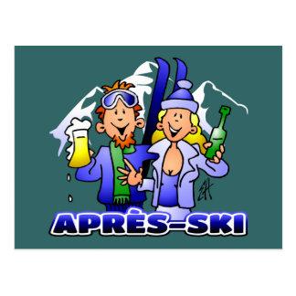 Après-ski Postcard