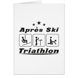 Apres Ski Triathlon Card