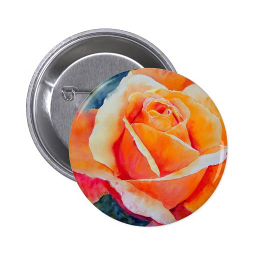 Apricot Pinback Buttons