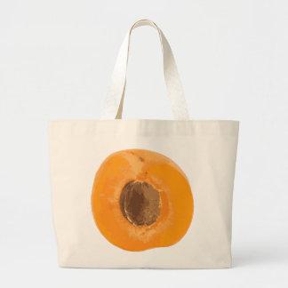 apricot jumbo tote bag