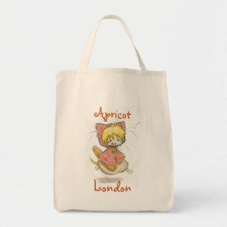 Apricot London grocery bag