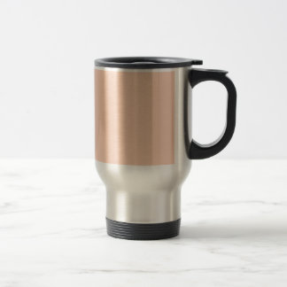 Apricot Stainless Steel Travel Mug