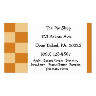 Apricot Pie Colors Business Card Templates