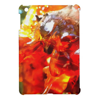 Apricot Resin Abstract iPad Mini Cover