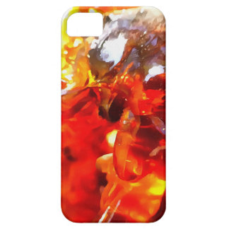 Apricot Resin Abstract iPhone 5 Covers