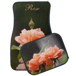 Apricot Rose Car mats Floor Mat
