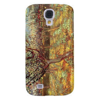 Apricot Trees in Blossom by Van Gogh Galaxy S4 Cover
