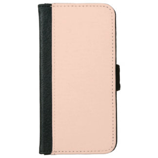"""""""Apricot"""" iPhone 6 Wallet Case"""