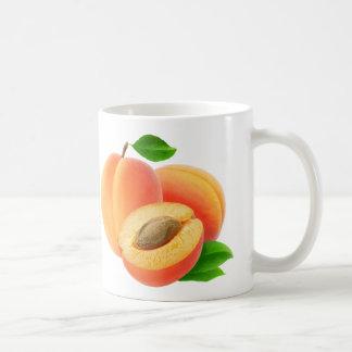 Apricots Basic White Mug