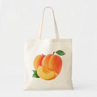 Apricots Budget Tote Bag