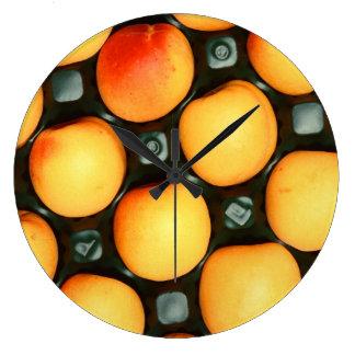 Apricots Fruit Clocks