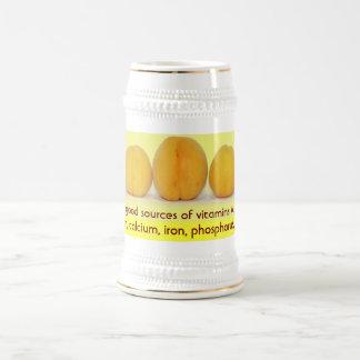 Apricots stein beer steins